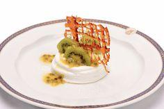 Recipe: Kiwi and Passion Fruit Pavlova. #Desserts