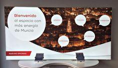 Digital Signage oficina EDP Murcia