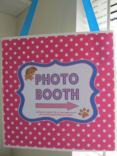 dog party - love and sugar kisses blog  Dog photo booth with props