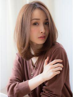 【violet】大人ミディアムグレージュ:L003685003 バイオレット 表参道店(Violet)のヘアカタログ ホットペッパービューティー