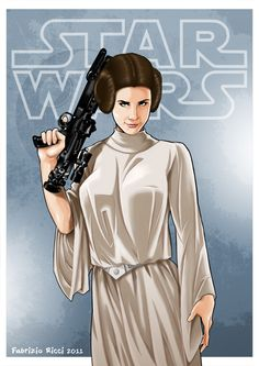 Star Wars - Princess Leia by Fabrizio Ricci *
