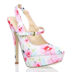 Sweet floral Malina heels from ShoeDazzle! Pretty Shoes, Beautiful Shoes, Cute Shoes, Me Too Shoes, Green Heels, Floral Heels, Kinds Of Shoes, Dress And Heels, Shoe Dazzle