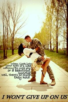 I won't give up on us - Jason Mraz // military quotes // navy // marines // air force //army