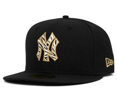NEW ERA x MLB 「New York Yankees Zebra Black」59Fifty Fitted Baseball Cap
