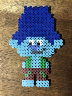 brach from trolls perler bead patterns Perler Bead Designs, Hama Beads Design, Diy Perler Beads, Perler Bead Art, Melty Bead Designs, Pearler Beads, Melt Beads Patterns, Pearler Bead Patterns, Perler Patterns
