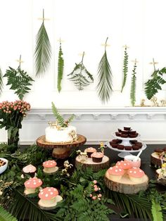 Tinkerbell-Inspired-Woodland-Fairy-Birthday-Party-Treat-Buffet