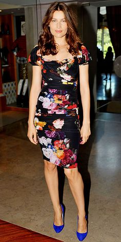 Look of the Day - August 29, 2012 - Laetitia Casta in Dolce & Gabbana from #InStyle