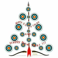 Merry Christmas & Happy New Year.  Archery