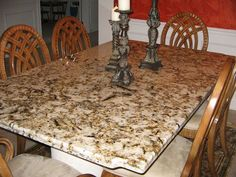 Natural stone products, like this tabletop, are available through Stone Design in the #Cincinnati area. #housetrends http://www.housetrends.com/specialist/Stone-Design