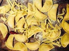 Mezzelune alla mantovana. #italianfood #pastafresca
