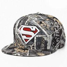 26f01e27a1662 New Fashion Superman Snap Back Snapback Caps Hat Cool Adjustable Gorras  Super Man Hip Hop Baseball Cap Hats For Men Women