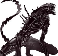 See more 'Alien' images on Know Your Meme! Alien Vs Predator, Predator Alien, Tatoo Alien, Alien Tattoo Xenomorph, Xenomorph Costume, Alien Film, Alien Art, Alien Convenant, Trippy Alien