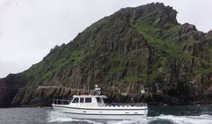 Skellig michael cruises at the great rock