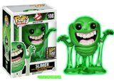 SDCC 2014 Funko Pop Exlusive Movies #108 Ghostbusters Slimer (Glow in The Dark) - SDCC Exclusives 2014 Funko Toys