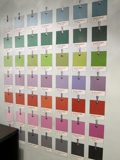 this makes my inner design nerd so happy.  a matching font wall would be phenom.