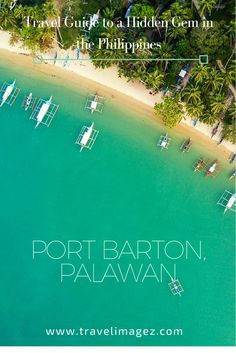 Port Barton: Why It Should Definitely Be In Your Palawan Itinerary  Port Barton is quiet fishing village right in between Puerto Princesa and El Nido. It's a nice retreat from the busy tourist spots. It's another great place for island hopping, where you won't find the huge crowds as in El Nido and Coron. You'll find thousands in El Nido. So it's for good reason that Port Barton is becoming a popular destination among travellers.