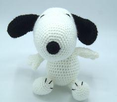 Snoopy Stuff Animal by CreativeCrochetbyChris, $25.00 USD