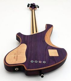O3 Guitars Rhodium Purplehaze Bass Bassguitar Bass