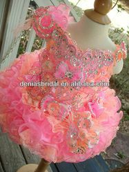 2013 Toddler Mini Cupcake gorgeous Little Girls Pageant Dresses