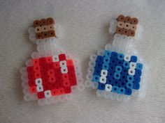 Perler Beaded Health and Mana Potions