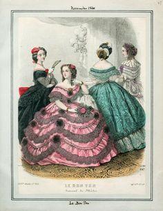 November, 1860 - Le Bon Ton