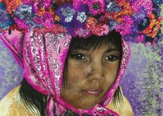 La fé de una Promesera.  Beatriz Hidalgo  de la Garza Perú South American Art, Mexican Art, Art World, All Art, Female Art, Art For Kids, Street Art, Sculptures, Artsy