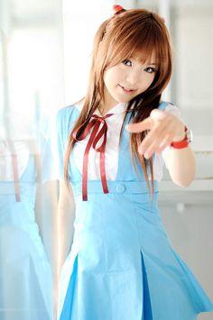 Kipi Cosplay Asuka Japanese Fashion Style