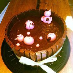 Pig cake