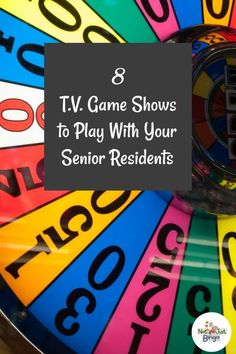 Discover 8 T.V. game shows to play with your nursing home residents