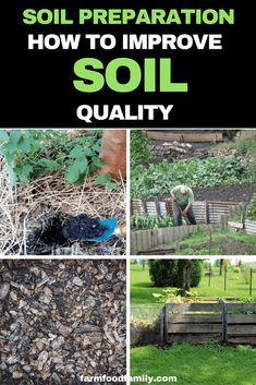 Garden Soil Preparation: How To Get Soil Ready For Planting Garden Soil Preparation: How To Improve Soil Quality Organic Gardening Tips, Organic Fertilizer, Organic Pesticides, Sustainable Gardening, Gardening Hacks, Organic Farming, Garden Soil, Garden Landscaping, Herbs Garden