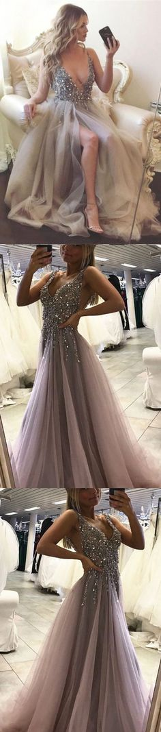Beading prom dress, long prom dress, pink prom dress, sweet heart prom dress, junior prom dress, gorgeous prom dress, popular prom dress, PD15443 #prom #prom dress #promdress #evening #eveningdress