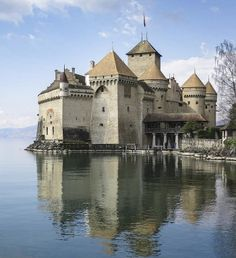 A picturesque castle that looks like it came straight out of a story book
