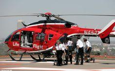 Life Flight transports patient to Level I Trauma Center at Memorial Hermann - Texas Medical Center