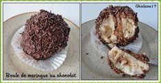 Boule de meringue au chocolat - 2ème - Ghislaine Cuisine
