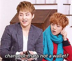 apparently, luhan owns half the things in xiumin's suitcase  (4/4)