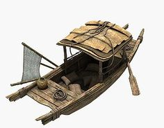 model Chinese Boat, formats MAX, boat cargo cargo-ship china crate, ready for animation and other projects Chinese Boat, Creepy Urban Legends, Junk Ship, Pirate Games, Make A Boat, Small Boats, Boat Plans, Wooden Boats, Model Ships