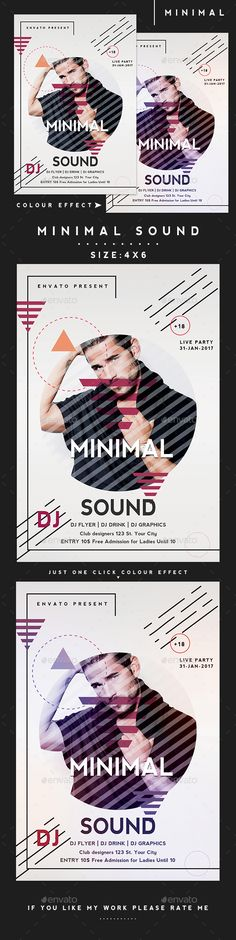 Special Guest Music Flyer Template PSD