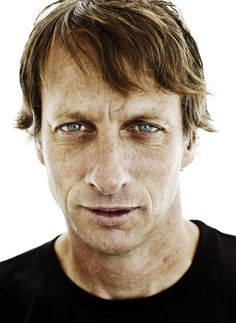 Tony Hawk- cool guy, great dad, and he has great taste in woman ;)