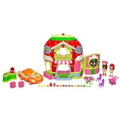 Strawberry Shortcake Bitty Berry Market Playset with Bonus Orange Blossom Doll & Vehicle Strawberry Shortcake http://www.amazon.com/dp/B0066ON556/ref=cm_sw_r_pi_dp_hzRNwb0T1XN1W