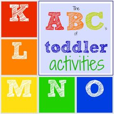 Toddler Approved!: The ABC's of Toddler Activities {K through O}. What other activities would you pick for K-O?