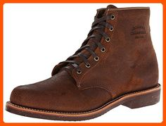 Original Chippewa Collection Men's 1901M84 6 Inch Service Utility Boot, Brown Bomber Distressed, 9 D US - Mens world (*Amazon Partner-Link)