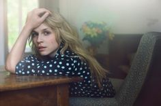 Clemence Poesy, photographed by Signe Vilstrup