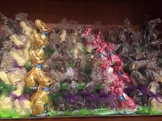 Chocolate bunnies galore!!