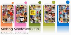 """Making Montessori Ours"" - instructions for lots of DIY Montessori materials"