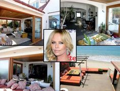 Charlize Theron Cottage-Style Home Malibu