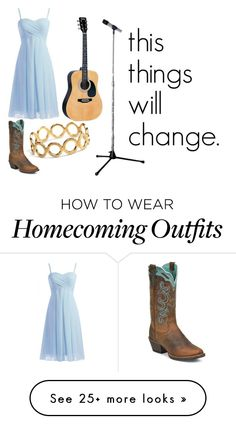 """[this things will change]"" by longlive-13 on Polyvore featuring Justin Boots, Pernille Corydon, women's clothing, women, female, woman, misses and juniors"