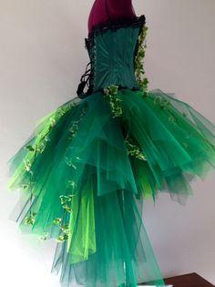 Burleske Poison Ivy Saint Patricks Day Tutu Rock grün Korsett beide mit Seide Efeu Blätter Bitte nur Sie die Größe auf Kasse oder Convo mich.