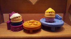VINTAGE LITTLE TIKES LITTLE PEOPLE Mixed LOT OF 4 #Unbranded