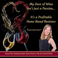 💕🍷💕ATTENTION WINE LOVERS💕🍷💕 When you combine relationship marketing with wine, what do you get? You get a brand new launch of artisan, hand picked wines delivered directly to your door, AND the opportunity to build an empire for your family. A solid income. Drinking wine.🍷 For free if you want. Having FUN. No...I'm NOT kidding!!! I plan to take as many people as I can with me. Wine. Fun. And making money. Want to know more? 💕🍷💕 🍷 Greatest Business Ever 🍷 Interested in learning…
