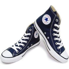 CONVERSE CHUCK TAYLOR AS CORE HI Navy M9622 All Star Sneakers Men / Women #Converse #AthleticSneakers